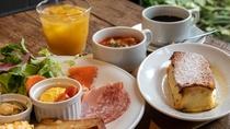 朝食フレンチトーストプレートイメージ