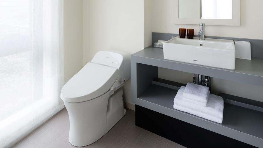 コーナーツインルーム 洗面&トイレ