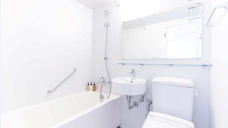 バスルーム一例(セミダブル、ダブル、ツインルーム)