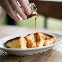レストラン「RAGOUT & WHISKY HOUSE」_朝食おすすめのフレンチトースト