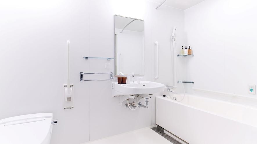 ユニバーサルツインルーム バスルームイメージ