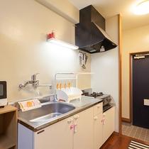 1階はキッチン付きのお部屋