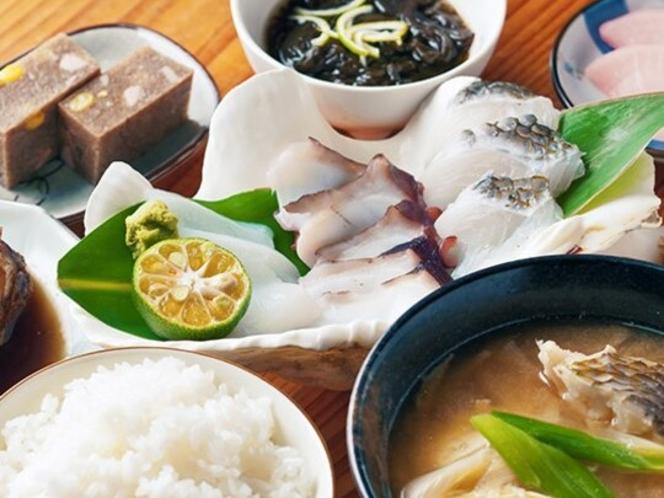 海鮮夕食イメージ(日替わり)