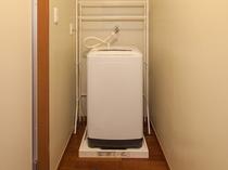 キッチン付のお部屋のみ洗濯機がございます。