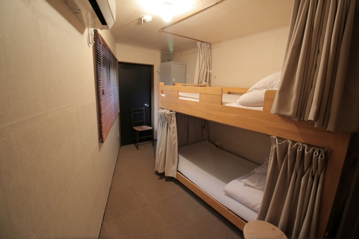 2段ベッド個室