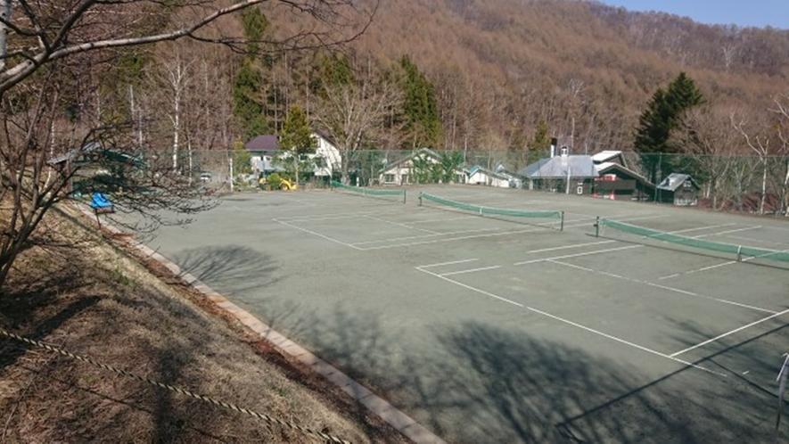 *施設:テニスコート/詳細はお問合せください。