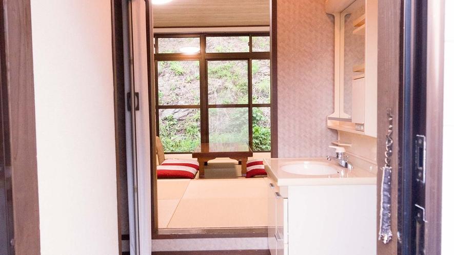 【コテージコンフォート】和室 洗面台