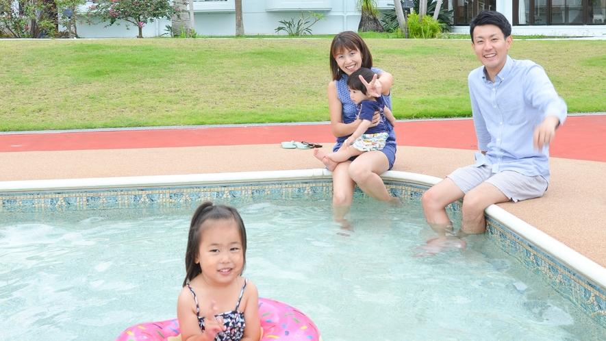 カレッタのプール★お子様用プールもあります!