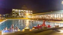 夜のプールも少しだけ涼しくなって最高^^♡