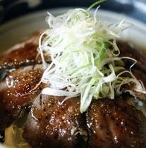 湯ノ沢名物エゾ鹿丼