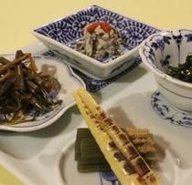 山菜メニュー