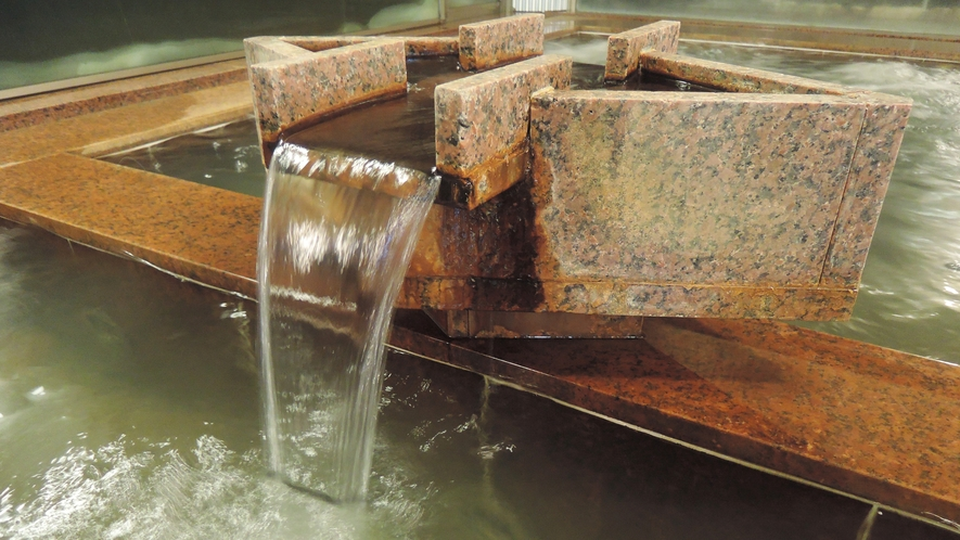 *天然成分が豊富な出湯で湯ったり癒しのひと時を
