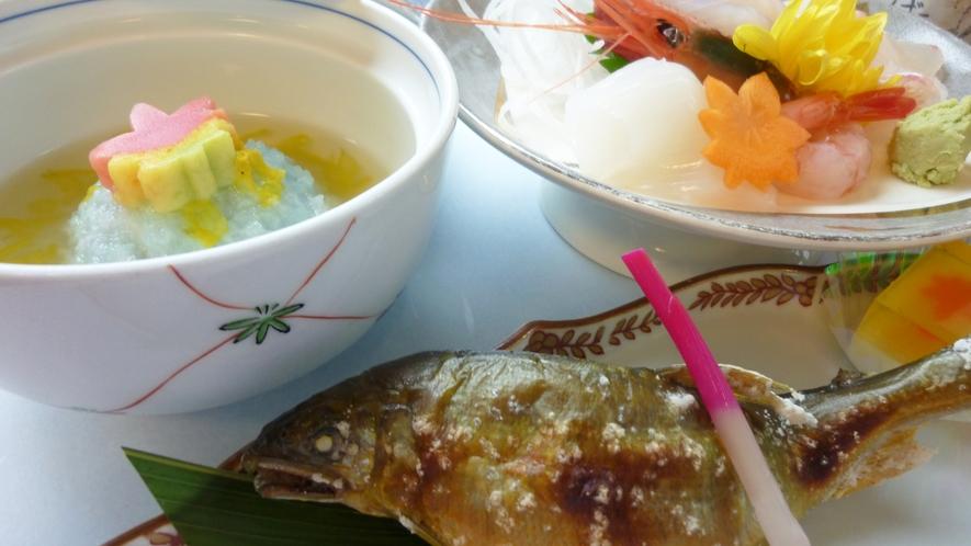 *ご夕食一例:焼き魚