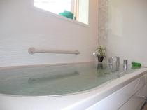 ログハウス(やよい、はづき)棟内の温泉