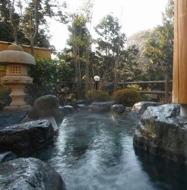 【スタンダードプラン】八畳+二畳以上のお部屋☆掛け流し温泉を満喫♪