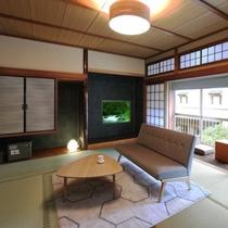 【リニューアル西館】和室10畳のお部屋タイプです。