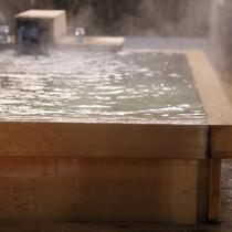天然温泉を独占できる客室露天風呂