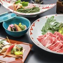 """「""""春""""の創作料理 和コース 『春風 -harukaze-』」夕食例"""