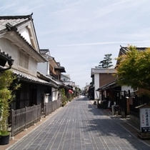江戸時代の風情が残る竹原町並み保存地区