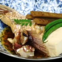 鯛のあら炊き イメージ