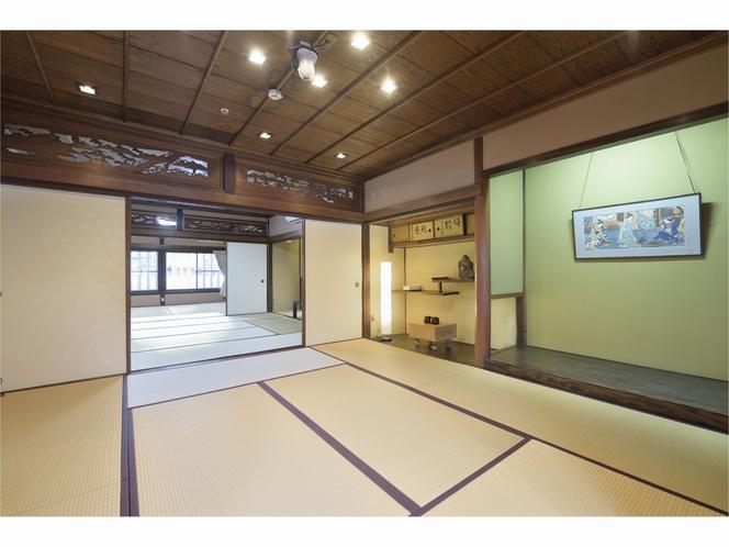 備中屋長衛門 客室広々30畳の和室