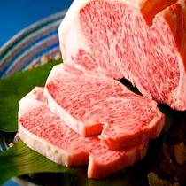 【夕食】プレミアム松阪牛ステーキ