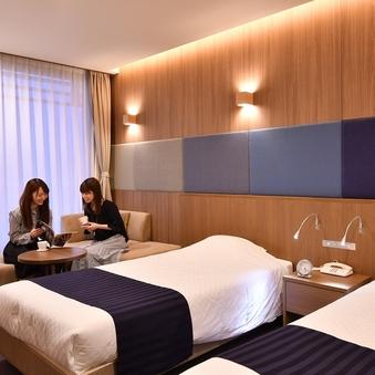 (禁煙)お任せツインルーム 広さ/20〜26平米 ホテル一任