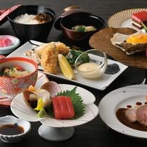 三陸産牡蠣御膳|優しい味わいにうっとり♪森と海の恵み!日本一の牡蠣をご堪能ください♪