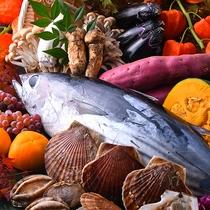 旬の食材の良さを最大に生かしたお食事をご提供いたします。