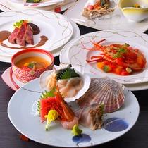 和洋新鮮な素材を食べられるのはこの場所ならでは!