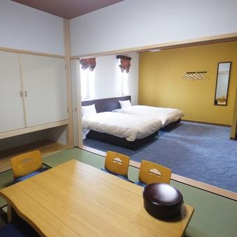 【和洋室】限定3室!ファミリーやグループでのご宿泊におすすめ