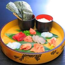 【レストラン】1泊2食B_海鮮手巻き寿司