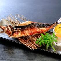 鯖の姿焼き
