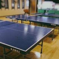 【ゲームコーナー】卓球