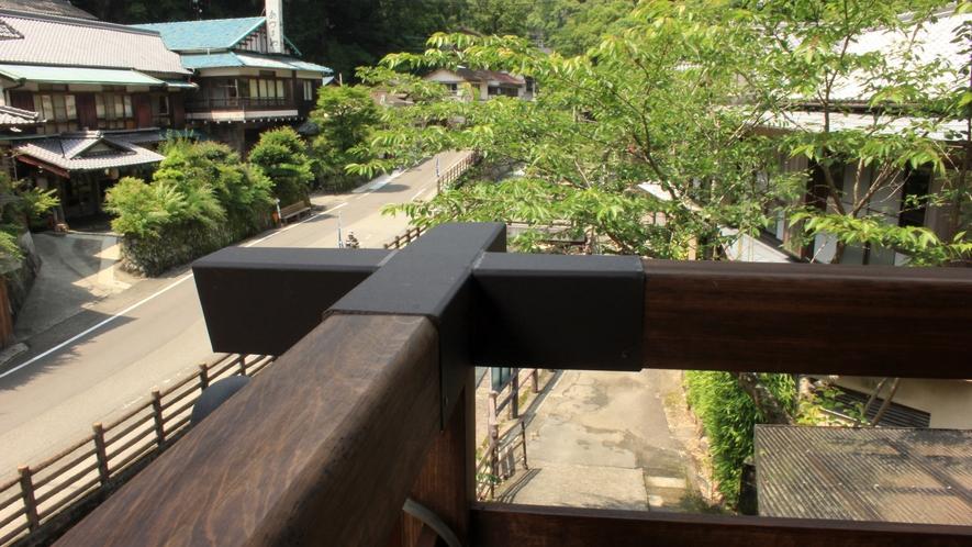 角部屋からの眺め