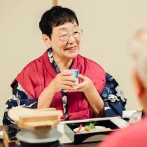 お食事自慢の当館で本当の日本料理の美しさと美味しさを。