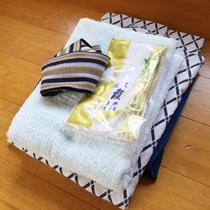 *【客室/アメニティ】浴衣やタオルなどが揃っているので安心♪