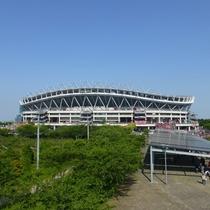 *【鹿島スタジアム】サッカー観戦の宿泊拠点としてもおすすめです。