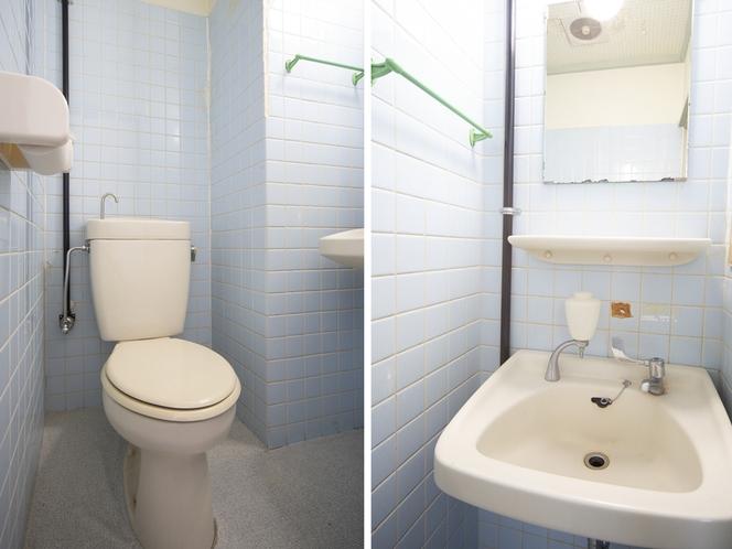 シングルルーム(バス無し)トイレ