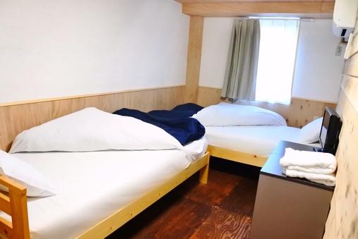【別館ツインルーム】プライベートツイン 専用バスルーム
