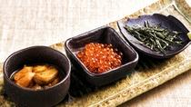 オプション料理 ウニ・いくら小鉢
