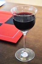 ワイングラスとお皿