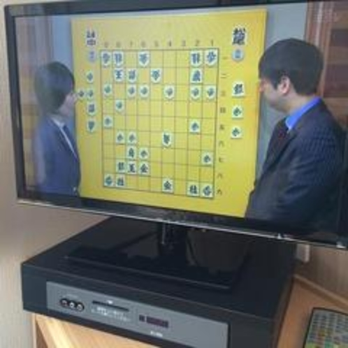 【液晶テレビ】全室完備(無料視聴テレビ*有料放送有*)