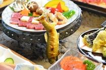 松プラン囲炉裏川魚