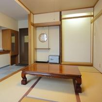 *【和室6畳一例さくら】畳のお部屋でごゆっくりとお寛ぎください。