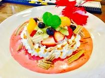 フルーツハワイアンパンケーキ