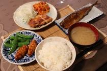 夕食一例(2)