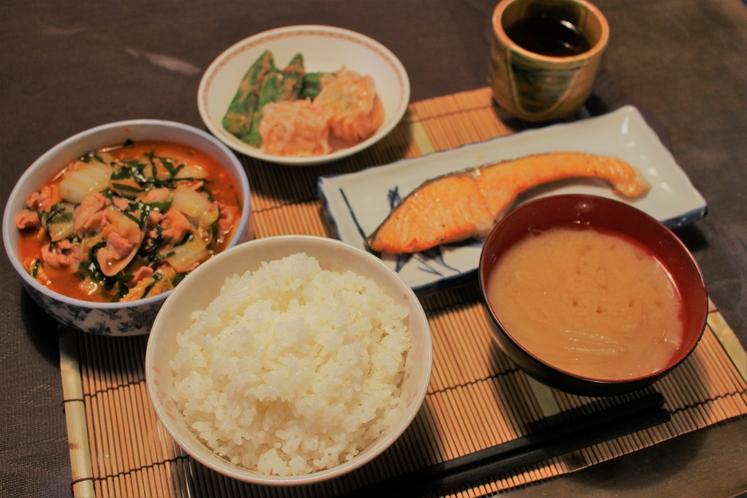 夕食一例(3)
