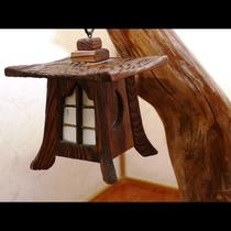 純和風の館内イメージ