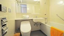 【和洋室】バス・トイレ付きのお部屋です。各アメニティもご用意しております。
